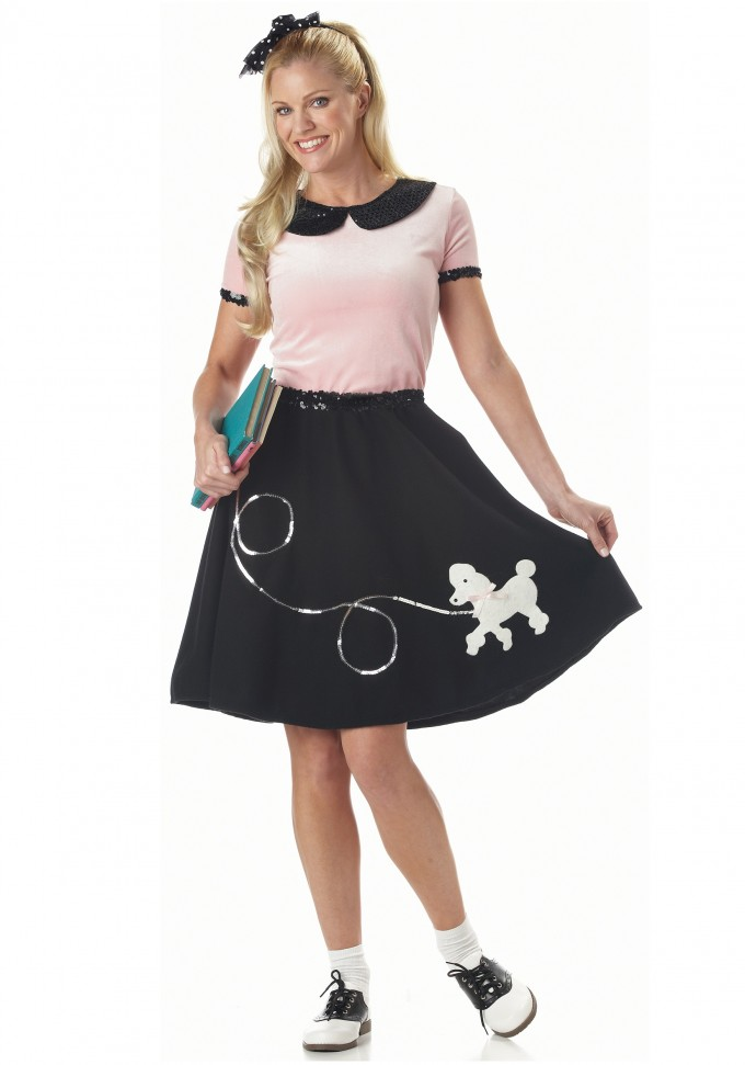 50s Dress Style | Grease Halloween Costumes | 50s Attire