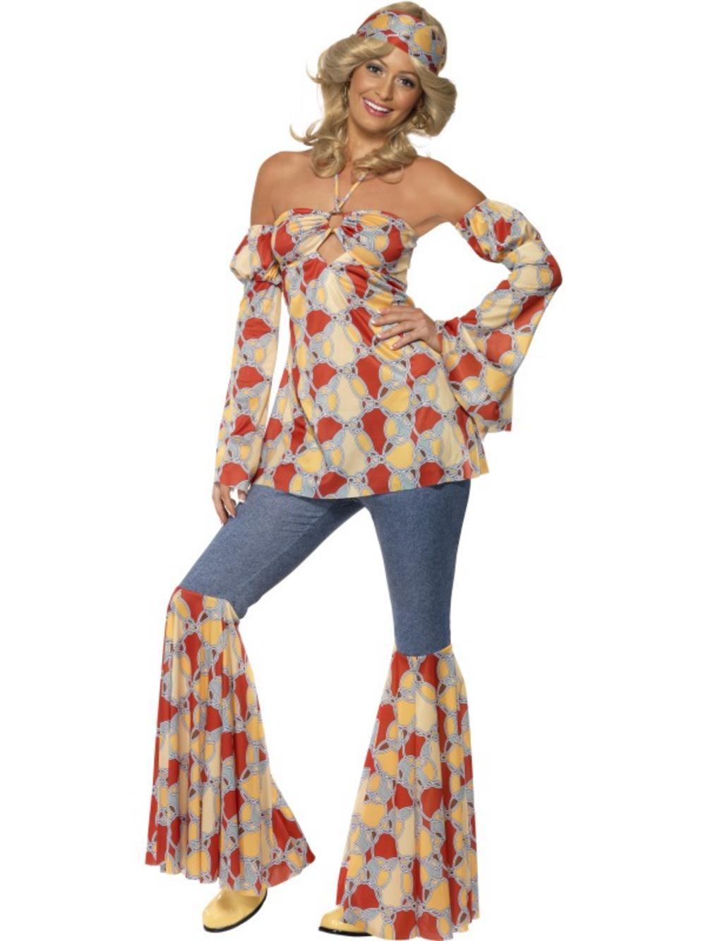 70s Theme Party Outfit Ideas | 70s Attire | 1970s Jumpsuit