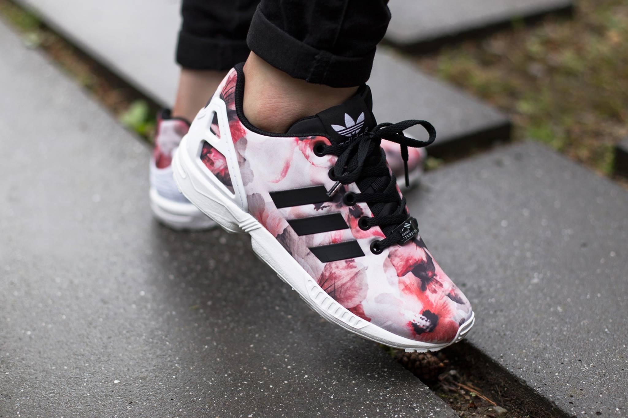 Adidas Zx Flux Pink | Adidas Zx Flux Core Black | Zx Flux Floral