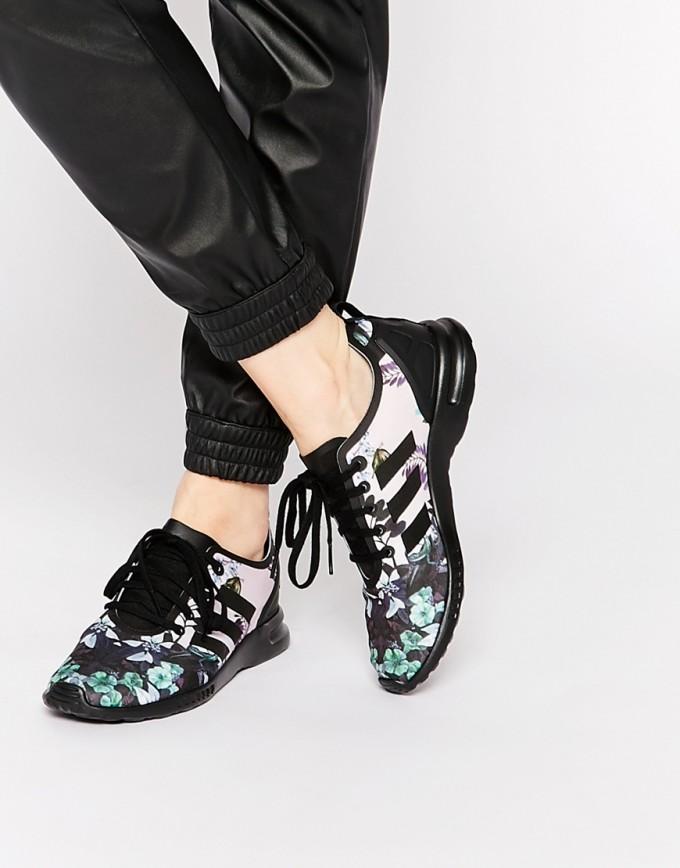 Adidas Zx Flux Triple Black | Adidas Flux Grey | Zx Flux Floral