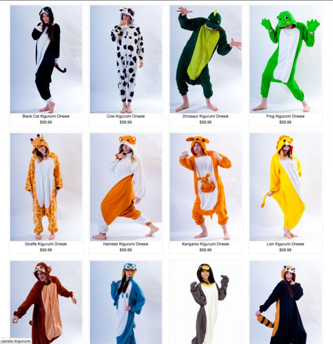 Adult Animal Onesies | Animal Print Onesies For Adults | Animal Onesies For Adults