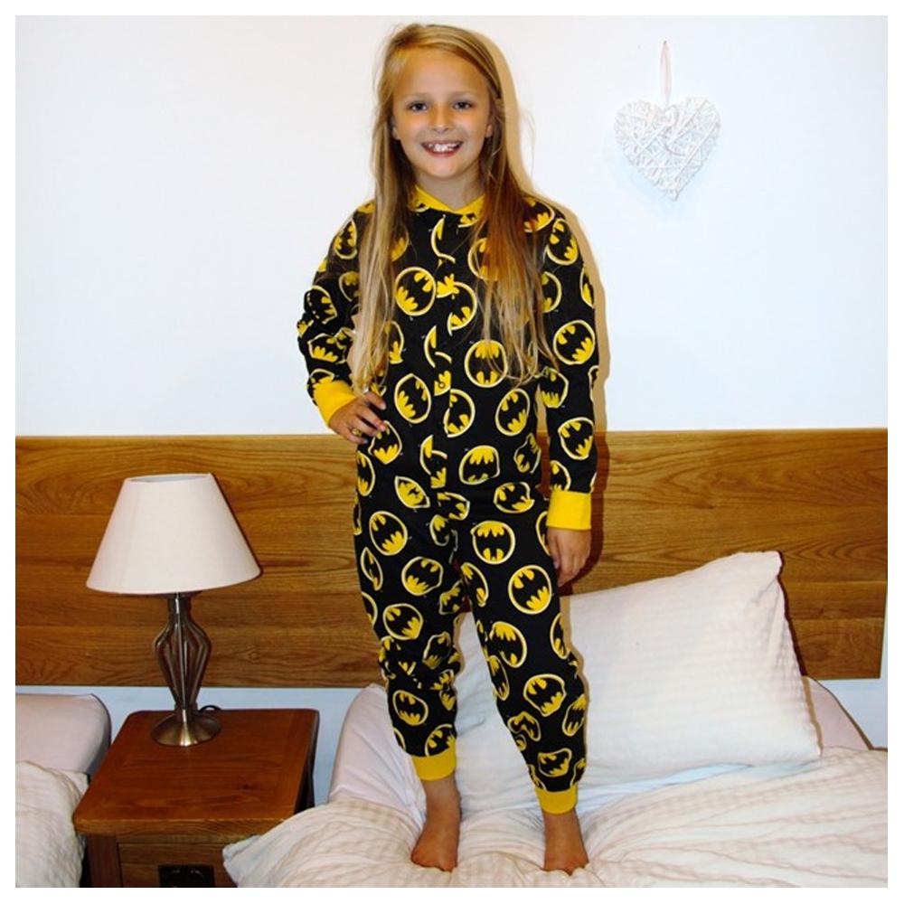 Adult Batman Footie Pajamas | Adult Onesie Superhero | Batman Onesie