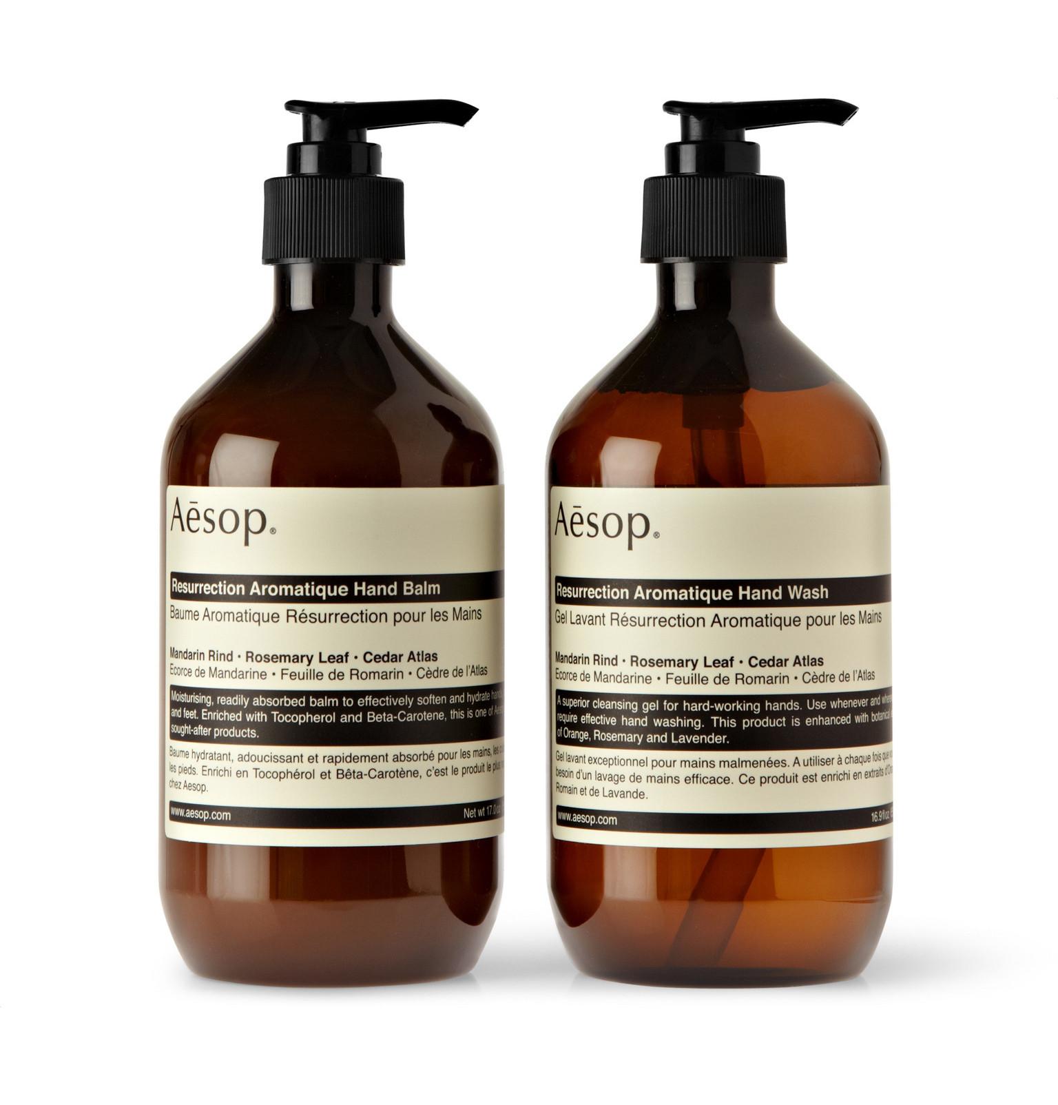Aesop Soaps | Aesop Hand Soap | Aesop Resurrection Aromatique Hand Balm