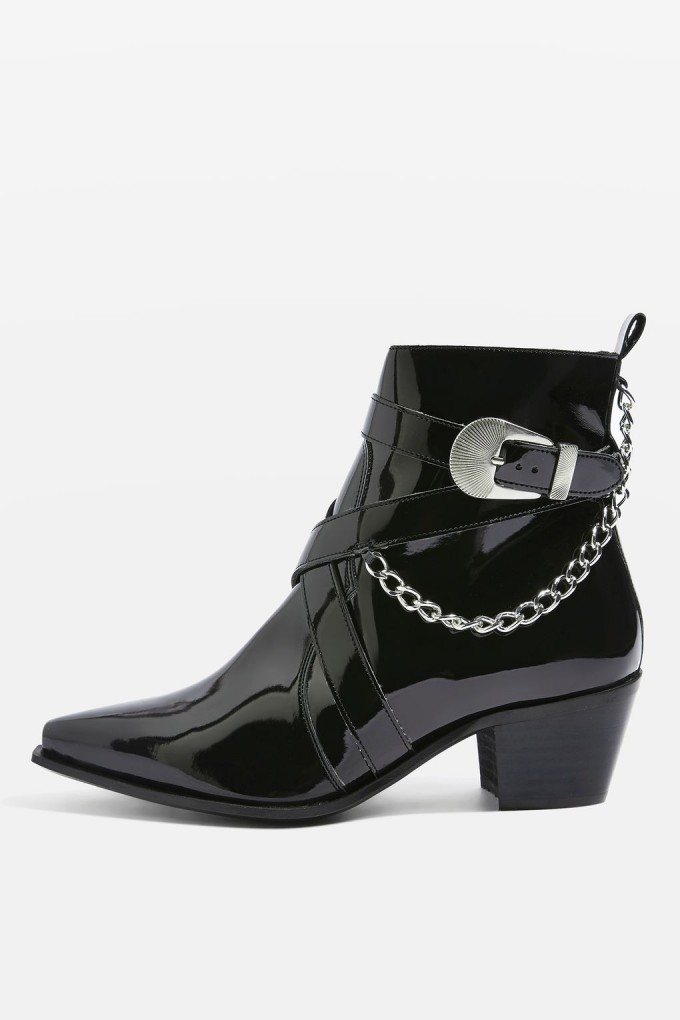 Ankle Cowboy Boots | Western Ankle Boots | Golden Goose Young Western Ankle Boot