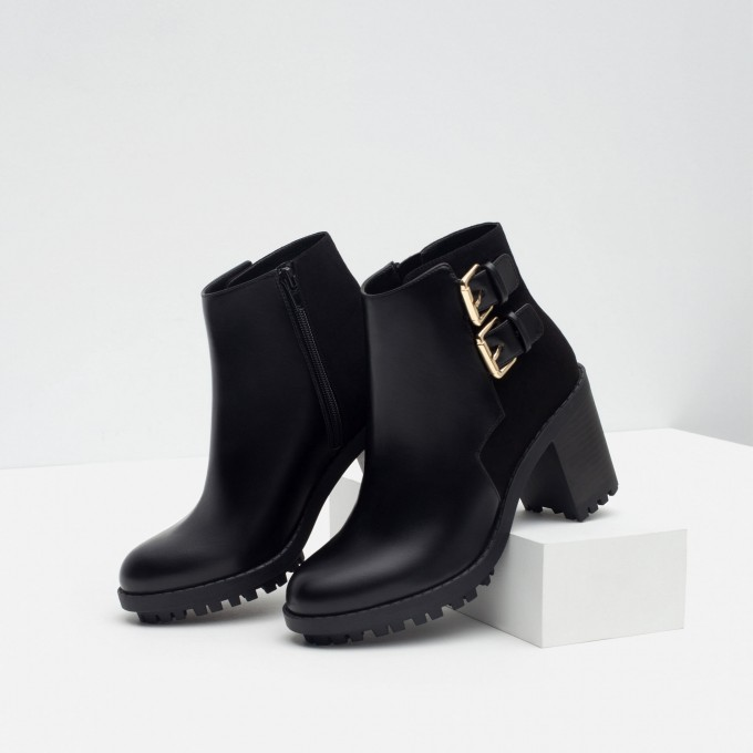 Ankle Cowgirl Boots | Black Ankle Boots With Buckles | Fringe Boots Kohls