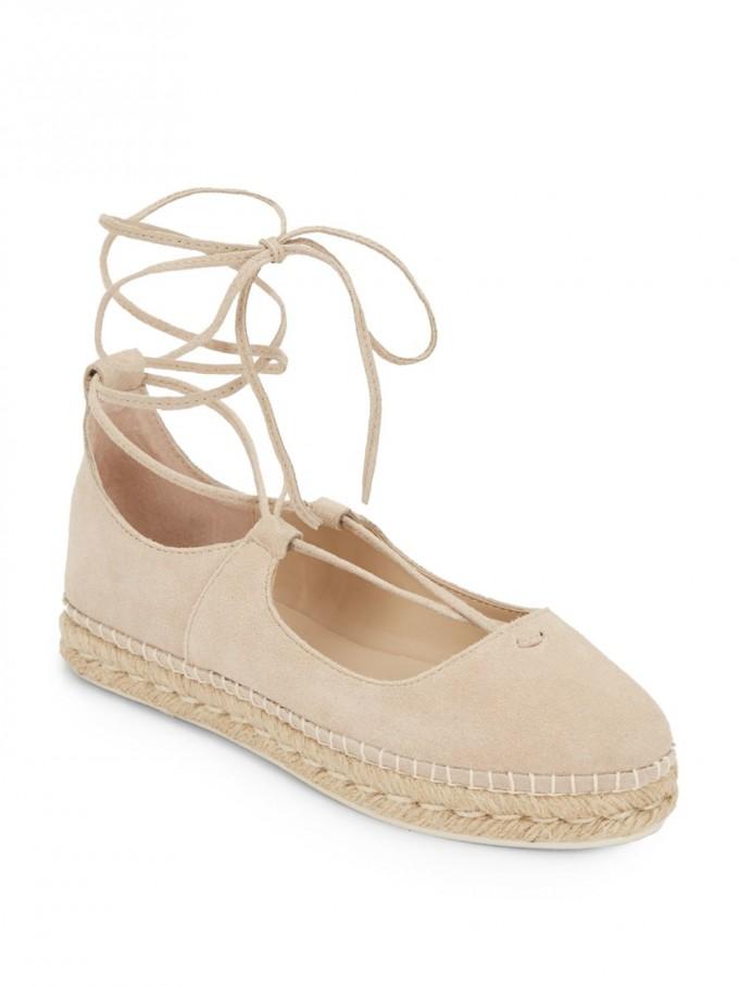 Ankle Tie Espadrilles | Espadrilles Tie Up | Platform Flat Sandals