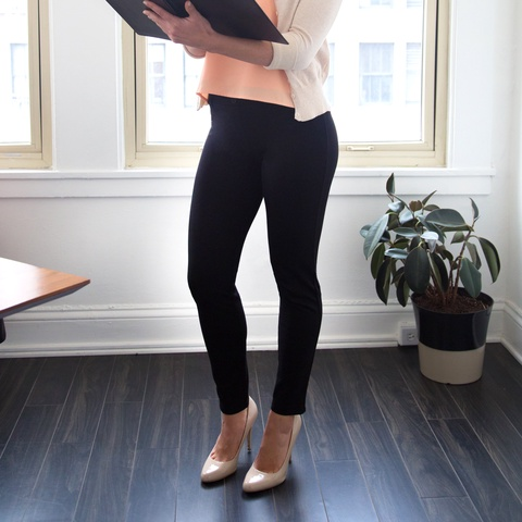 Ankle Yoga Pants | Dressy Trousers | Betabrand Yoga Dress Pants
