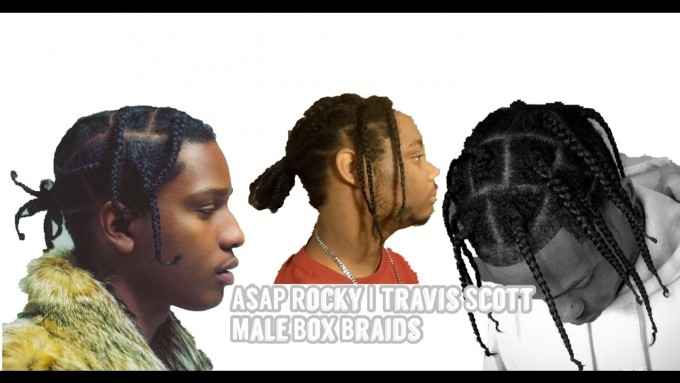 Asap Rocky Braids | Braids For Short Hair Men | Hip Hop Hairstyles