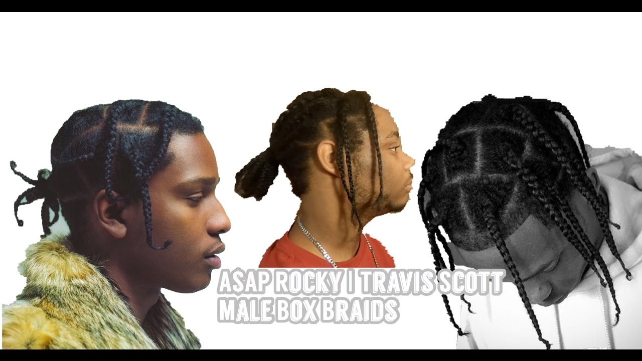 Asap Rocky Braids | Braids for Short Hair Men | Hip Hop Hairstyles