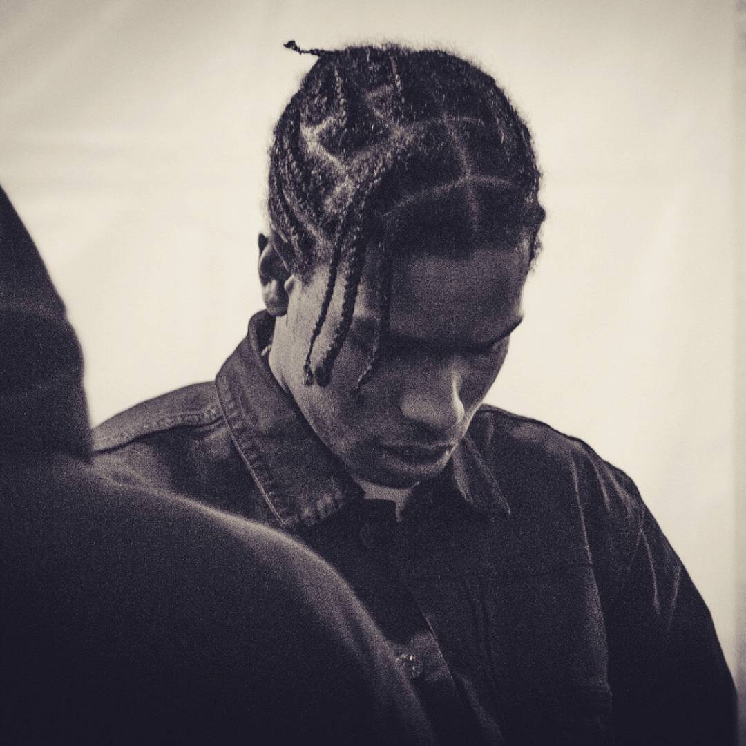 Asap Rocky Braids | Mens Braided Hair | Braid Hair Cut