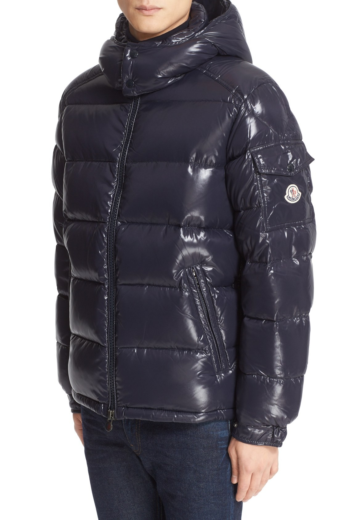 Astonishing Balmain Leather Jacket Men | Stunning Moncler Maya