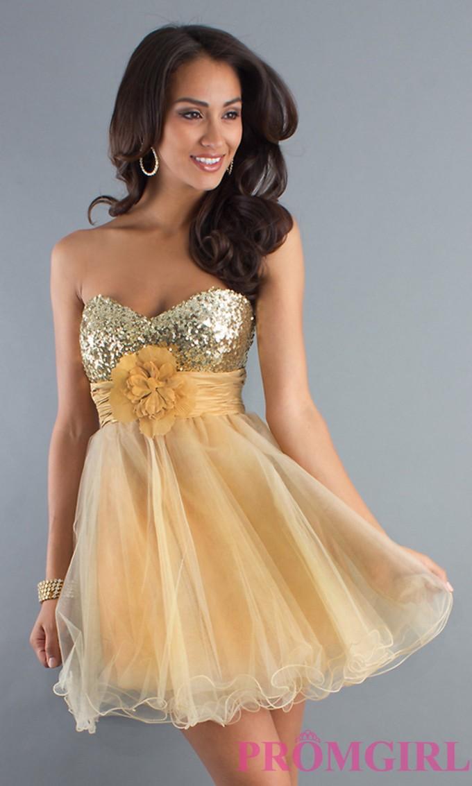 Babydoll Dresses | Strapless Babydoll Dress | Junior Babydoll Dresses