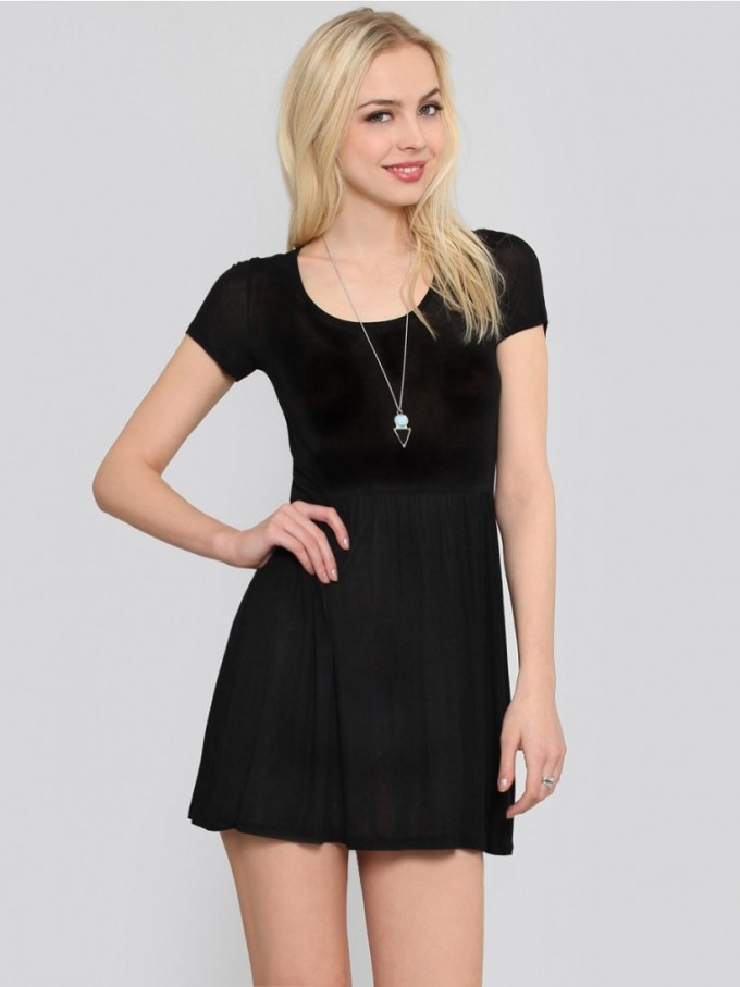 Backless Babydoll Dress | Babydoll Dresses | White Babydoll Dresses