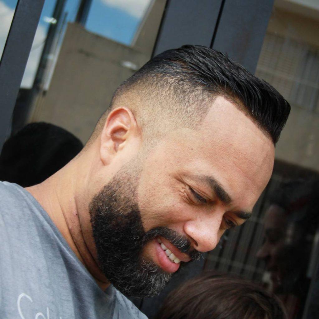 Bald Fade   How to Cut A Bald Fade   Mid Fade Pompadour
