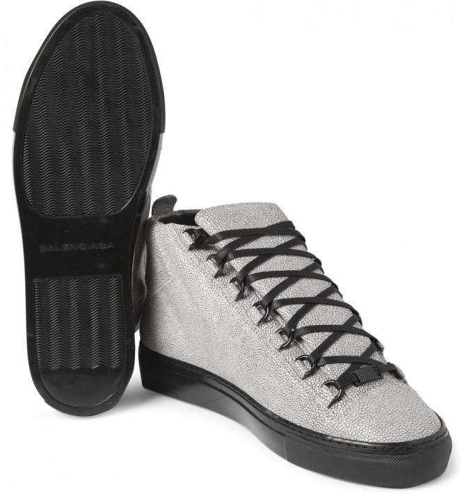 Balenciaga Arena Sneakers | Balenciaga Shoes Replica | Snakeskin Shoes For Men