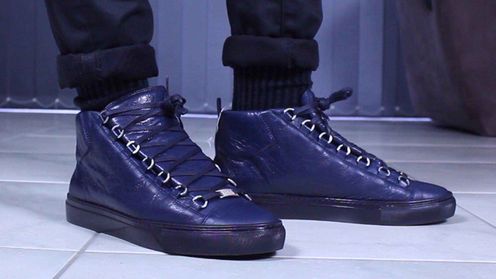 Balenciaga Arena Sneakers | Best Designer Sneakers | Neiman Marcus Sneakers