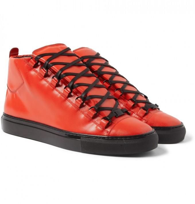 Balenciaga Arena Sneakers | Mens Balenciaga Sneakers | Suede High Tops