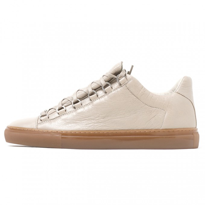 Balenciaga Arena Sneakers White | Snakeskin Shoes For Men | Balenciaga Arena Sneakers
