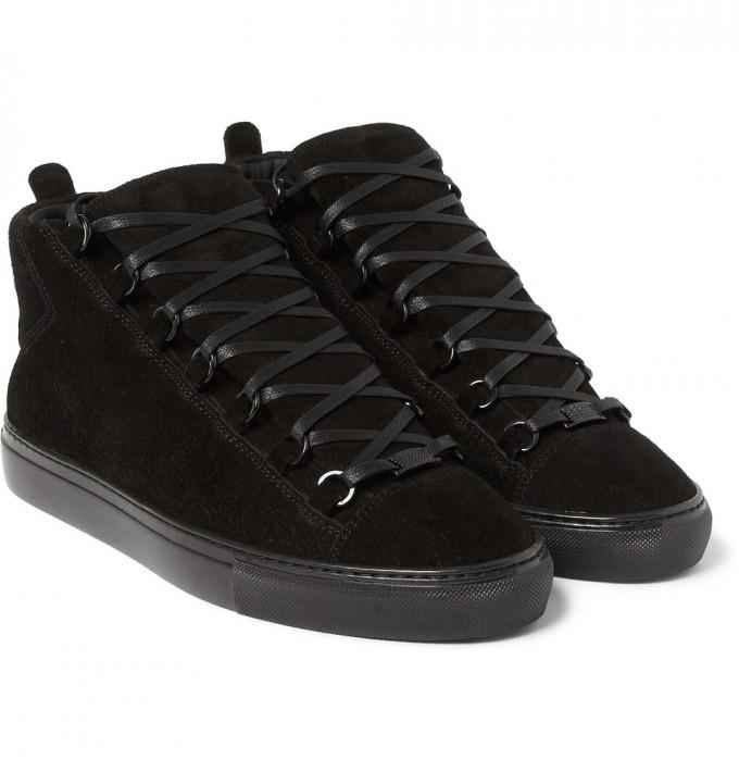 Balenciaga Boots Mens | Balenciaga Arena Sneakers | Suede Balenciaga Arena Sneakers