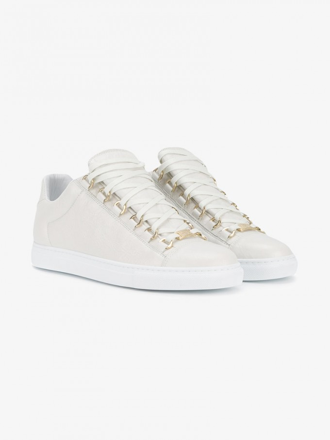 Balenciaga Sneakers For Men | White Balenciaga Arena Sneakers | Balenciaga Arena Sneakers