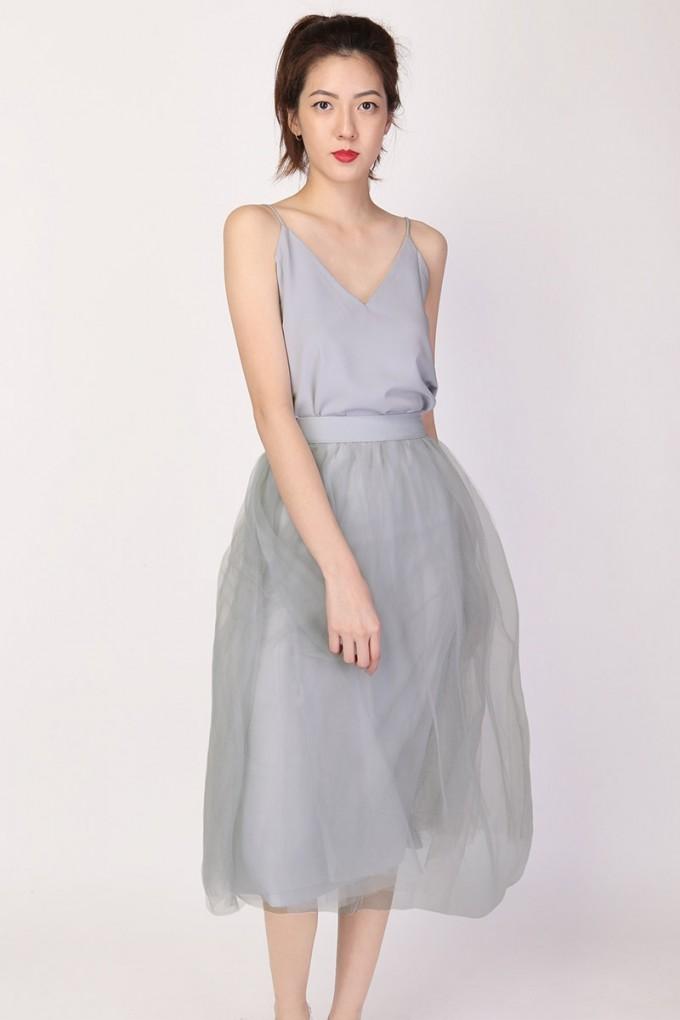 Ballerina Skirts | Tulle Midi Skirt | Burgundy Tulle Skirt