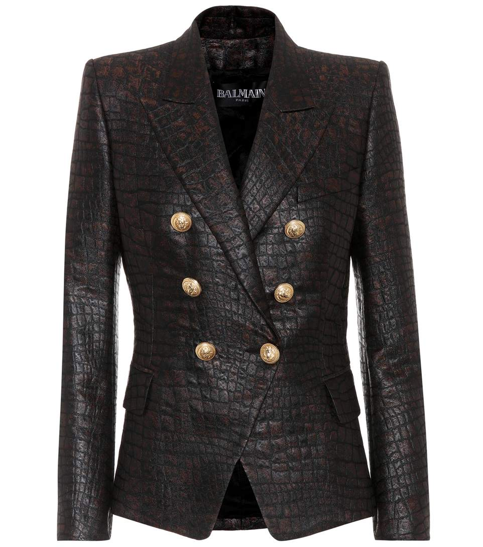 Balmain Boots Womens | Balmain Double Breasted Blazer | Leather Jacket Balmain