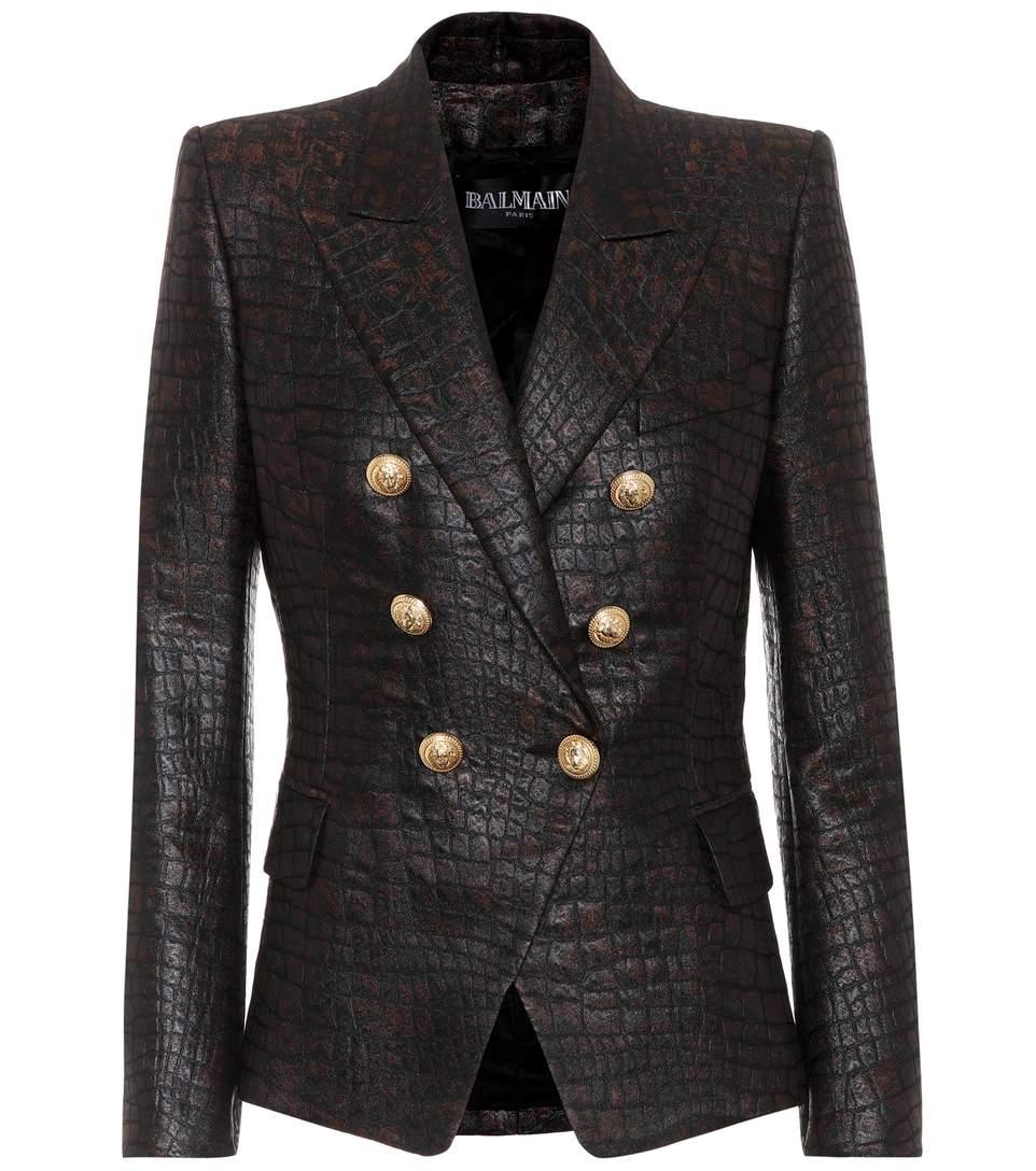 Balmain Boots Womens | Balmain Double Breasted Blazer | Leather Jacket Balmain