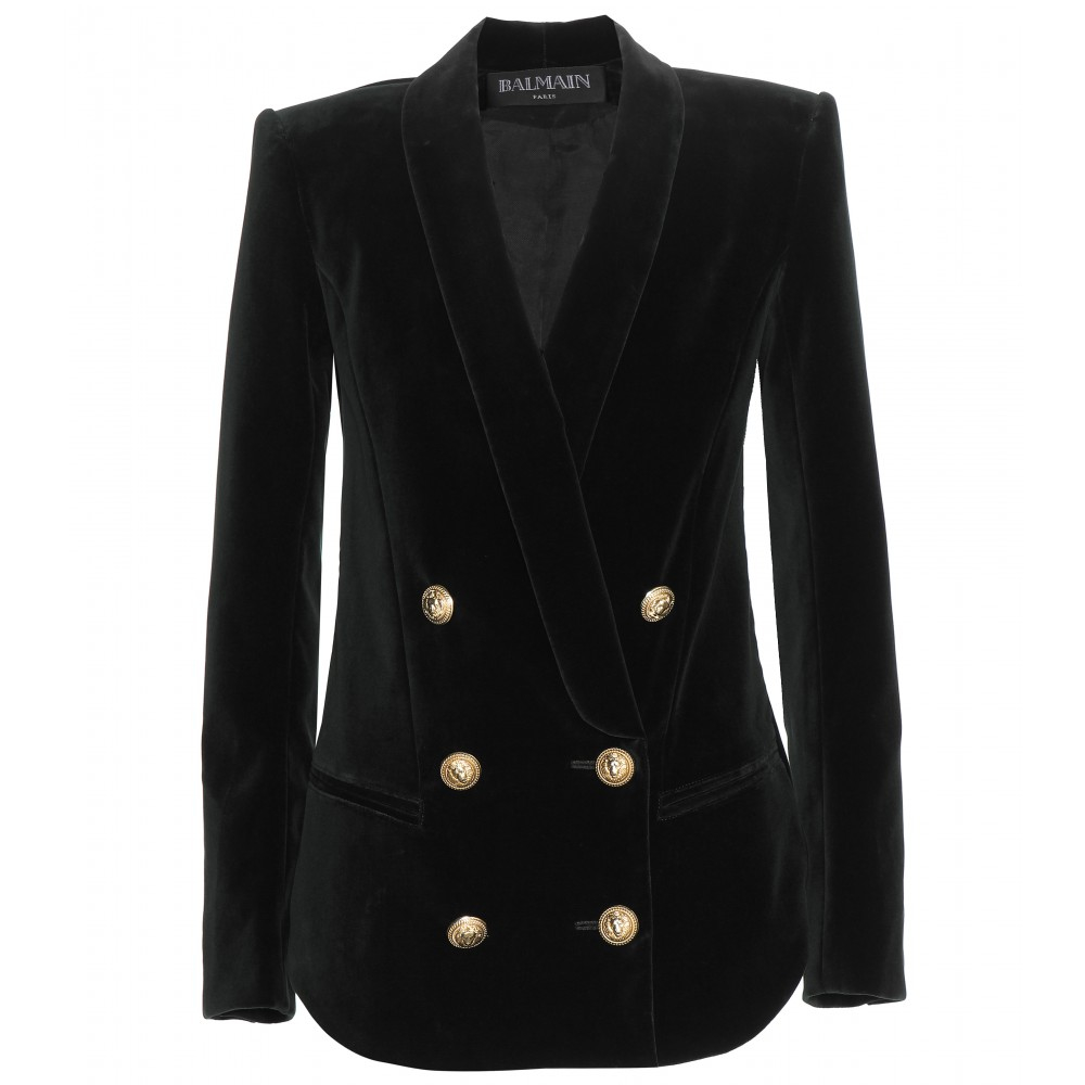 Balmain Double Breasted Blazer | Balmain Inspired Blazer | Double Breasted Wool Blazer