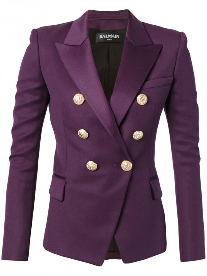Balmain Double Breasted Blazer | Balmain Replica Clothing | Balmain Paris Shoes
