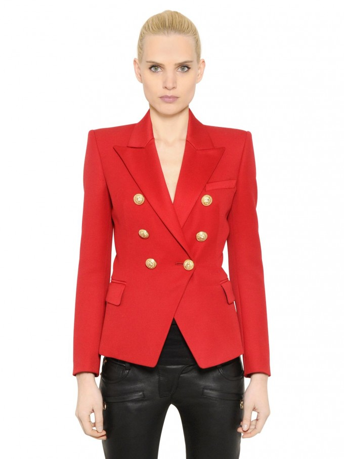 Balmain Double Breasted Blazer | Balmain Vest | Balmain Dresses