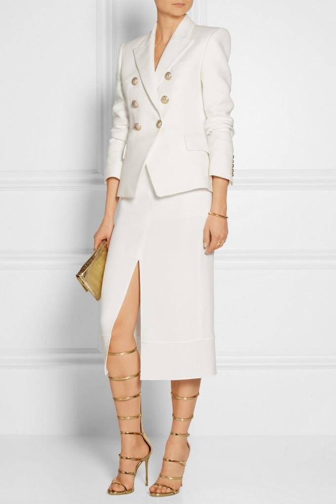Balmain Double Breasted Jacket | Balmain Double Breasted Blazer | Double Breasted Wool Blazer