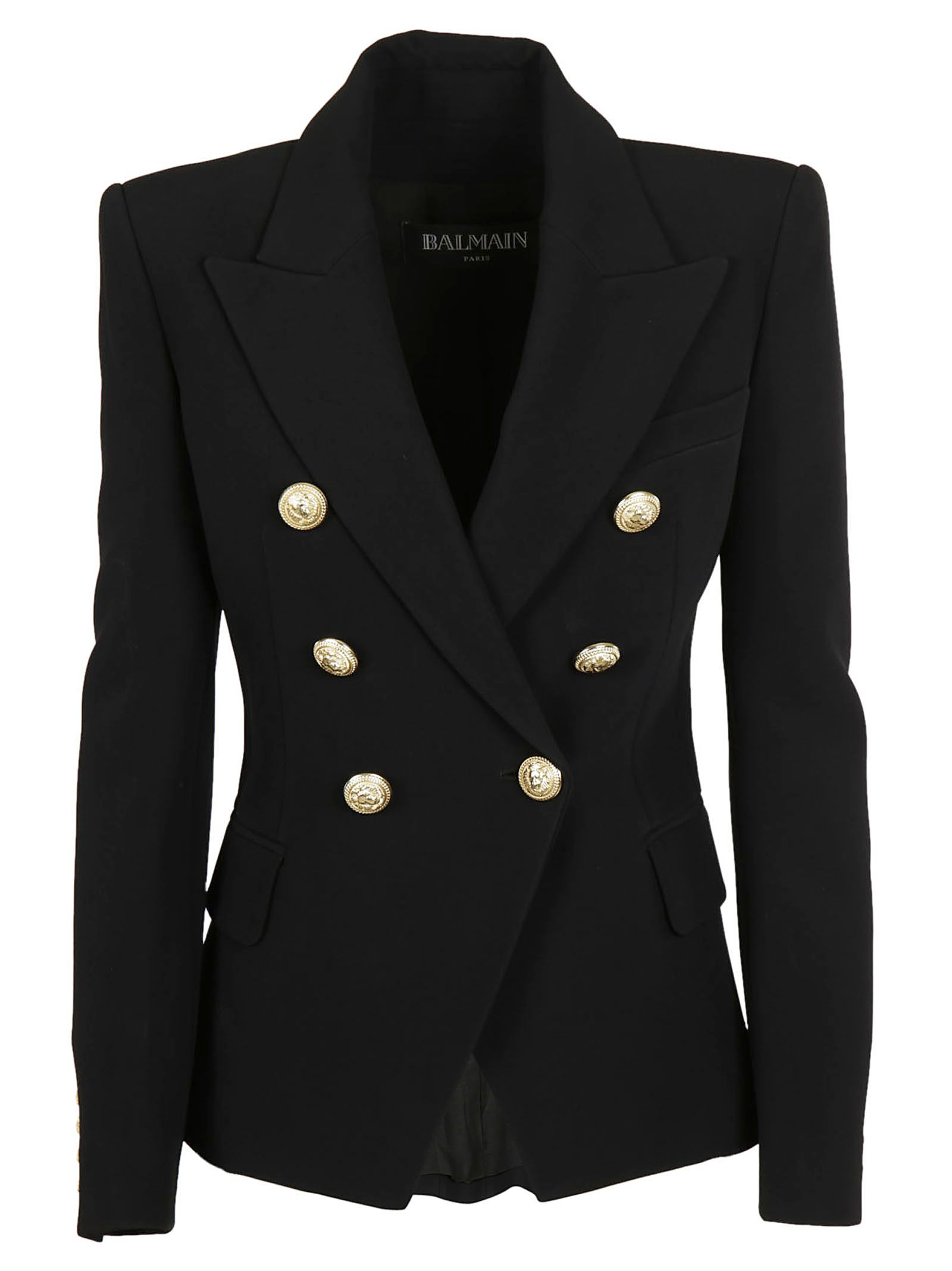Balmain Gown | Balmain Double Breasted Blazer | Balmain Sizing