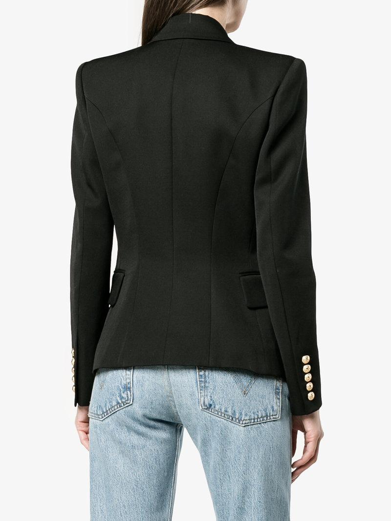 Balmain Gowns | Balmain Double Breasted Blazer | Where to Buy Balmain