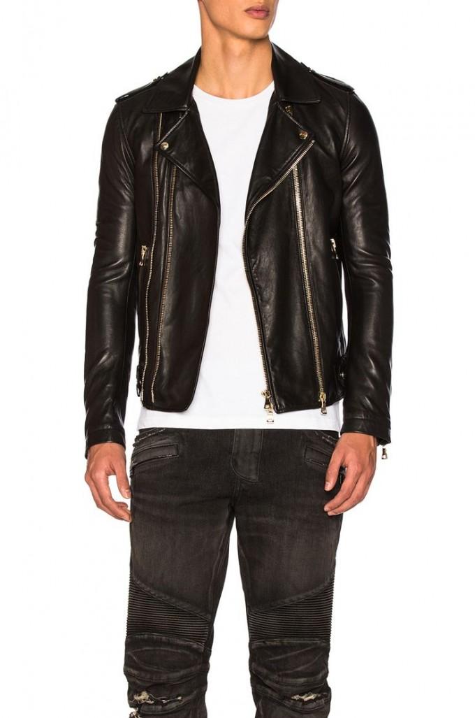 Balmain Jeans For Men | Balmain Leather Jacket | White Balmain Jeans Mens