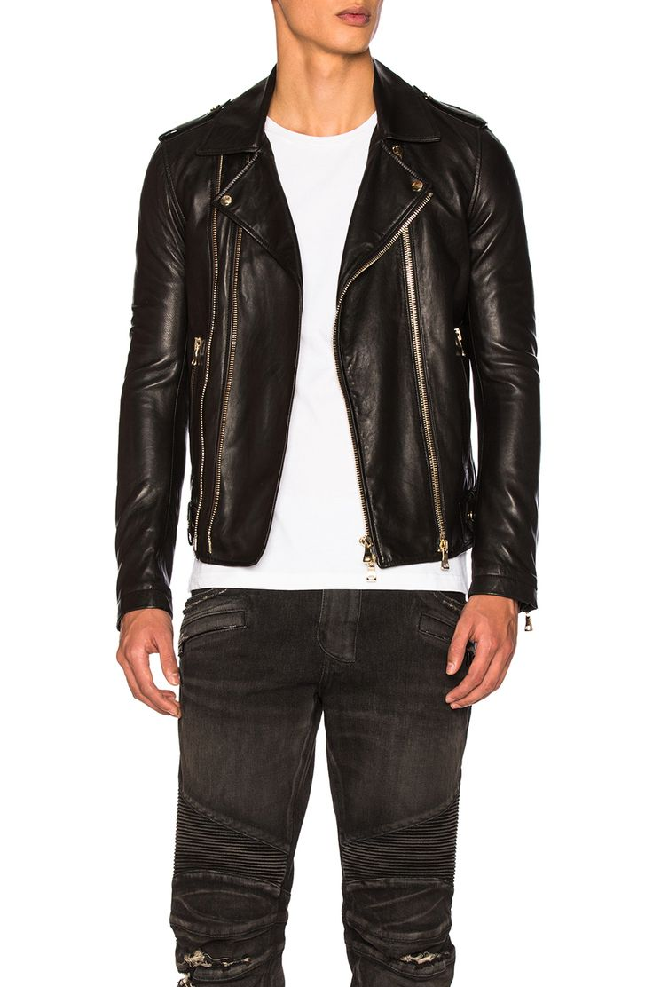 Balmain Jeans for Men | Balmain Leather Jacket | White Balmain Jeans Mens