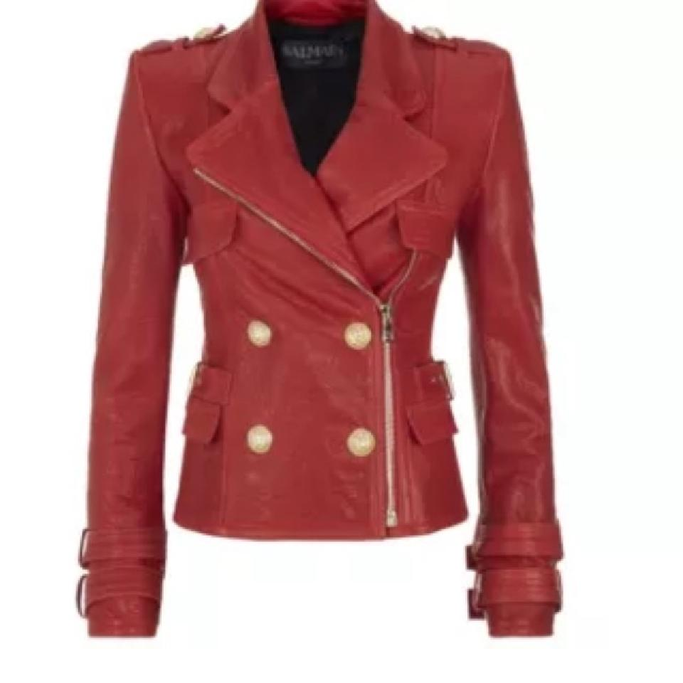 Balmain Leather Jacket | Balmain Dresses | Balmain Leather Biker Jacket