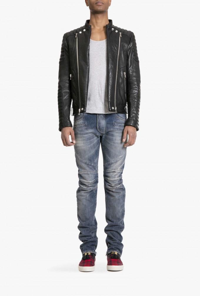 Balmain Leather Jacket | Balmain Sandals | Balmain Leather Jacket Men