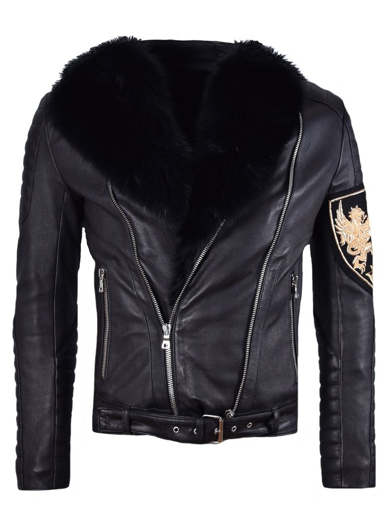 Balmain Leather Jacket | Fake Balmain Jeans | Balmain Biker