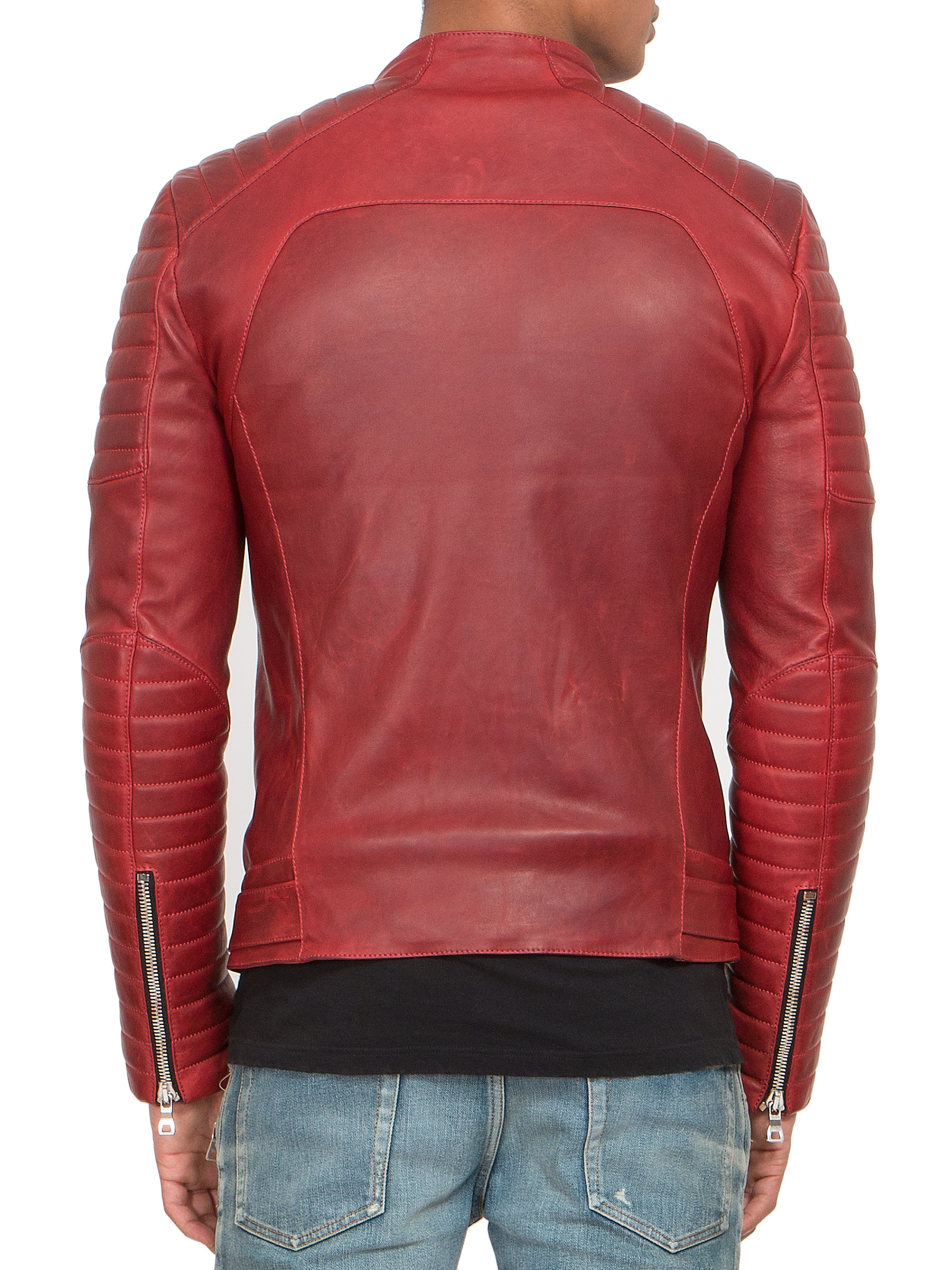 Balmain Leather Jacket | Fake Balmain Jeans | Balmain Boots Men