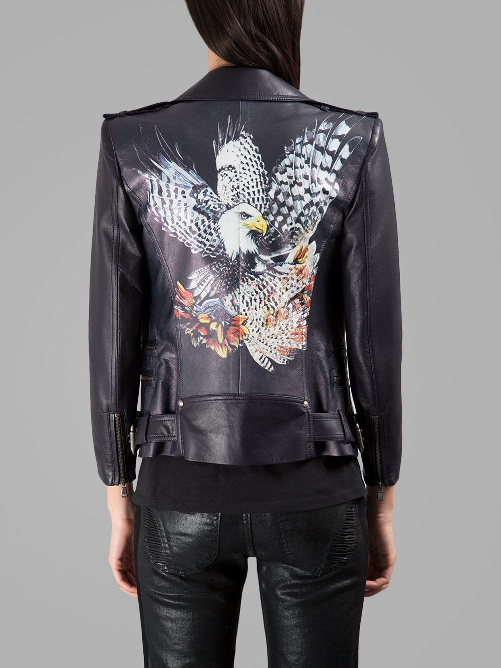 Balmain Moto Jeans | Balmain Leather Jacket | Balmain Jacket Mens