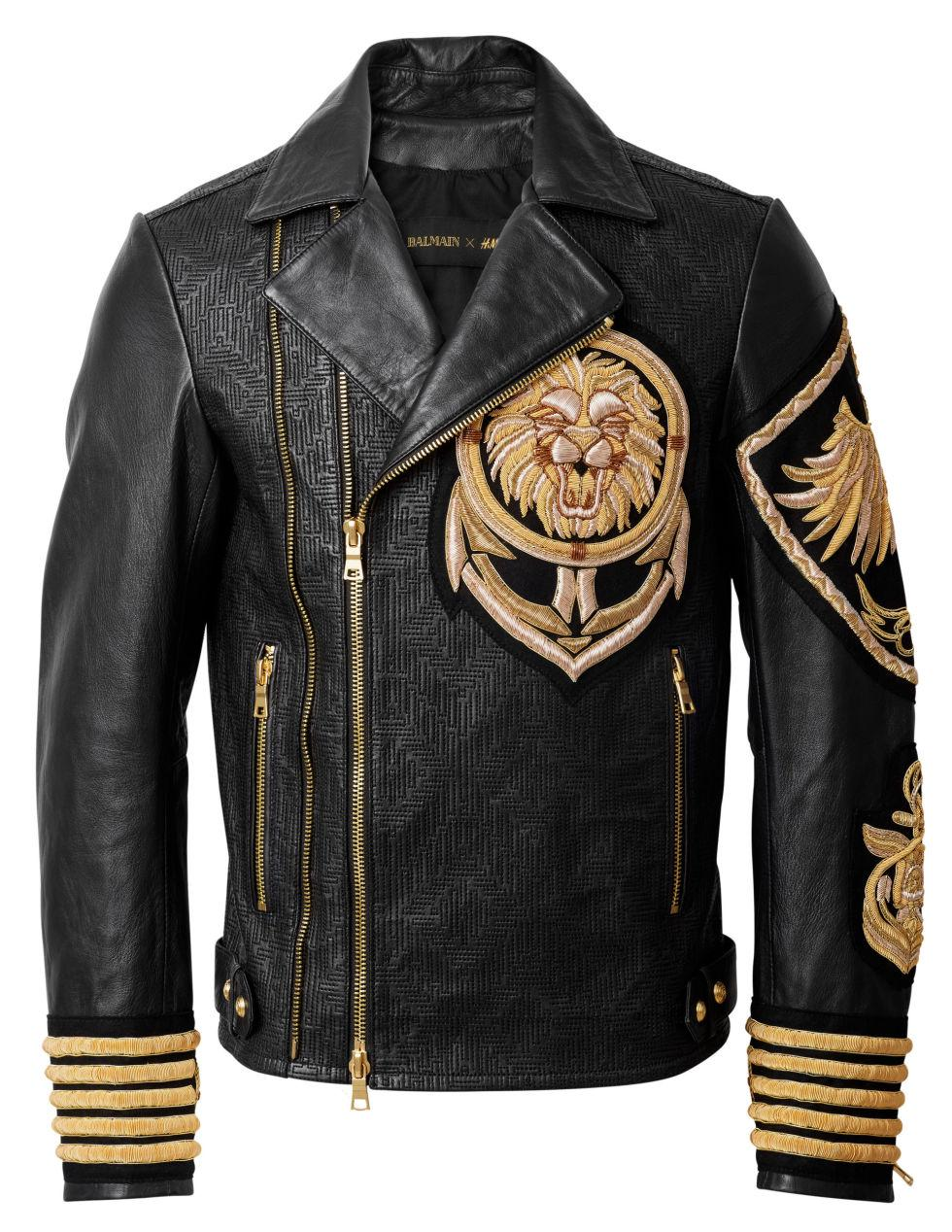 Balmain Nyc | Balmain Leather Jacket | Pierre Balmain Leather Jacket