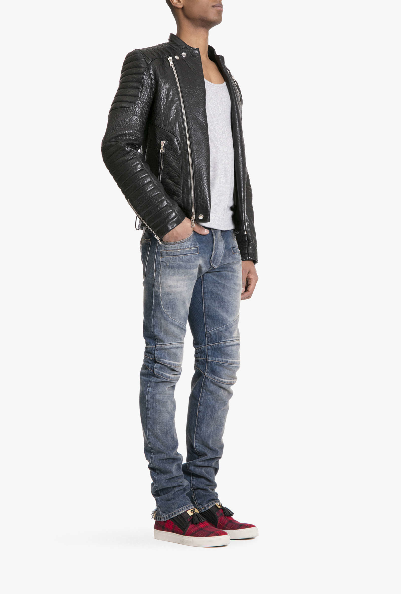 Balmain Shoes Men | Balmain Leather Jacket | Balmain Leather Jacket