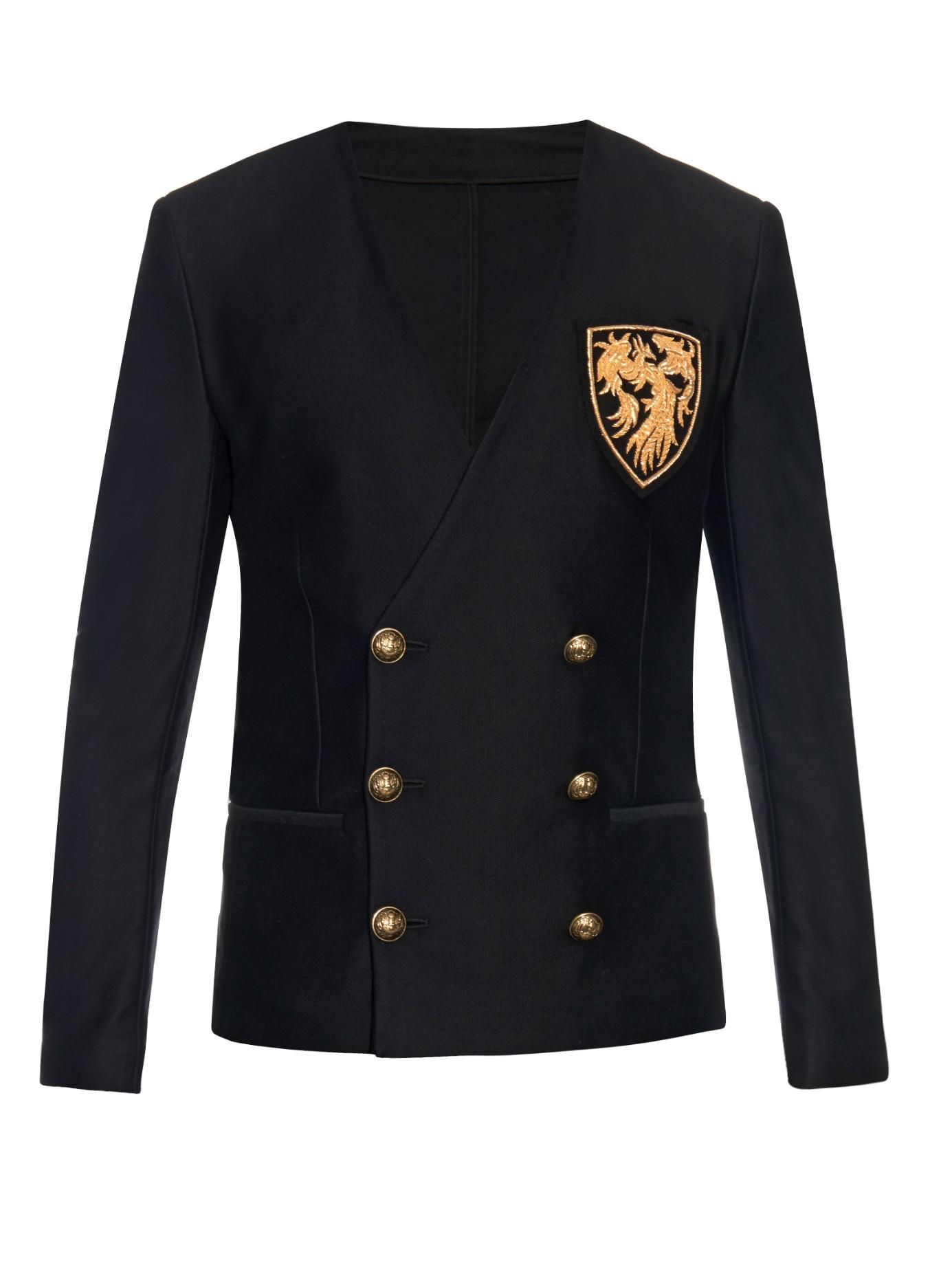 Balmain Sizing | White Blazer Gold Buttons | Balmain Double Breasted Blazer