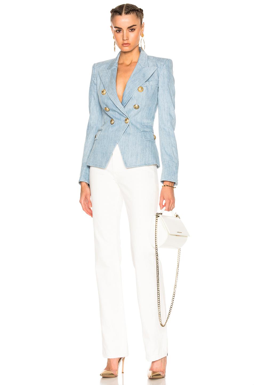 Balmain Vest | Balmain Double Breasted Blazer | Buy Balmain Online