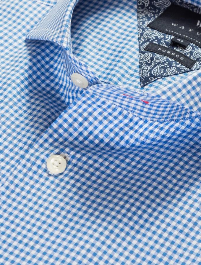 Band Collar Dress Shirts | Cutaway Collar | Extreme Cutaway Shirt