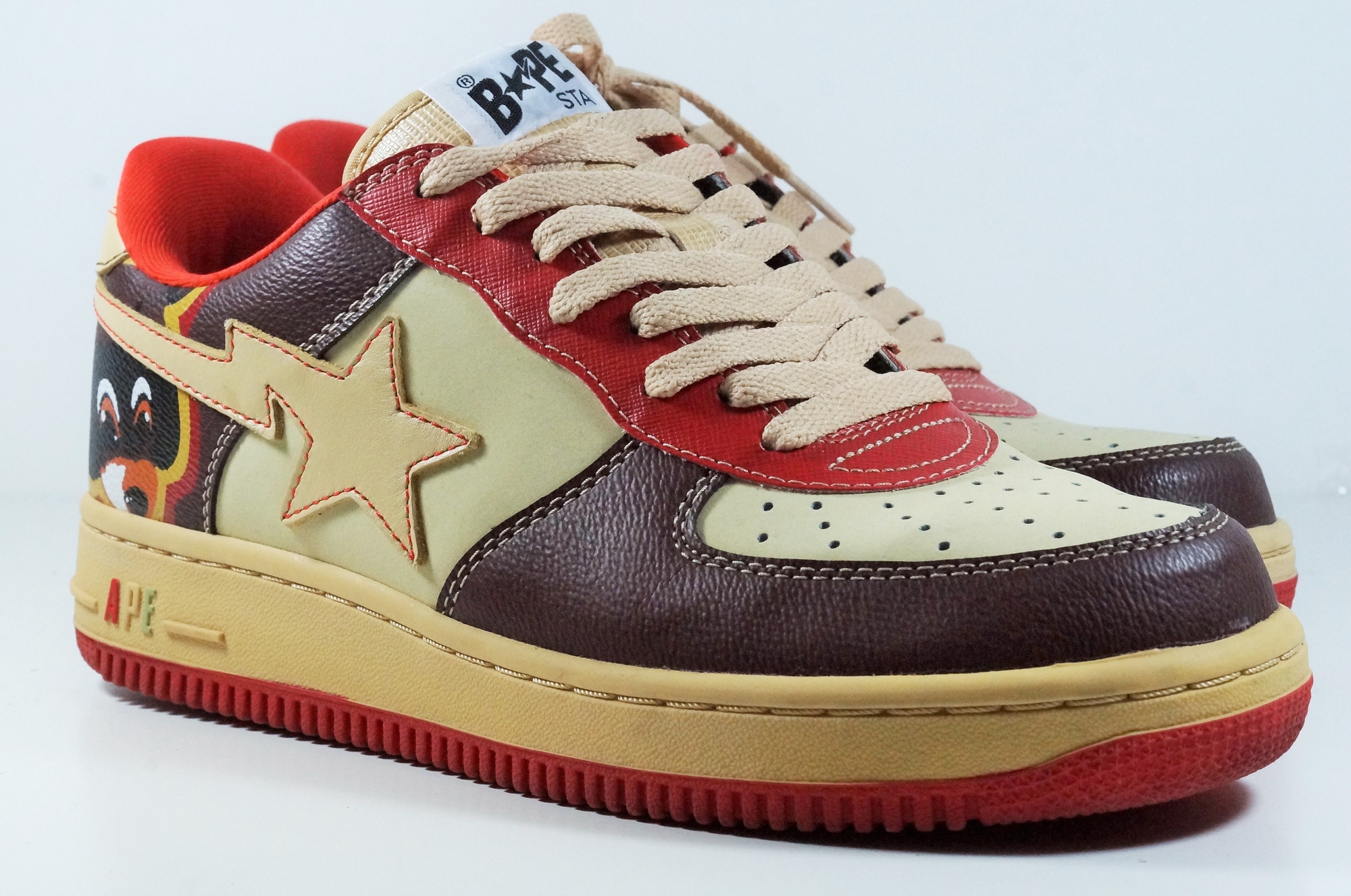 Bape Marvel Shoes | Bapesta | Ape Shoes