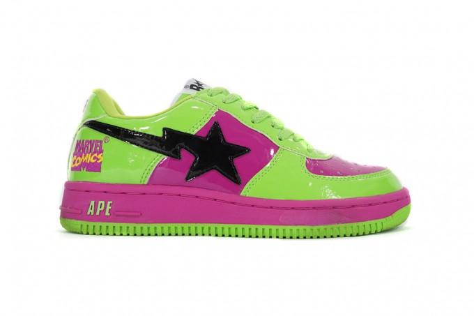 Bapes Shoes   Bapesta   Bape High Top