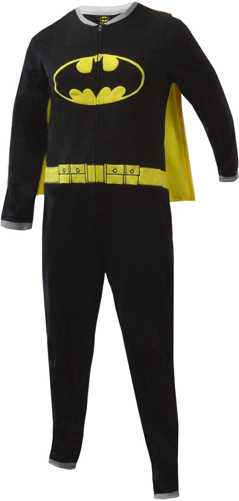 Batman Footie Pjs | Batman Onesie | Batman Onesies for Men