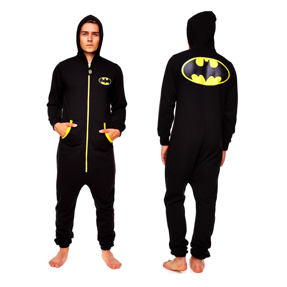 Batman Onesie | Batman Baby Onesie with Cape | Mens Batman Onesie