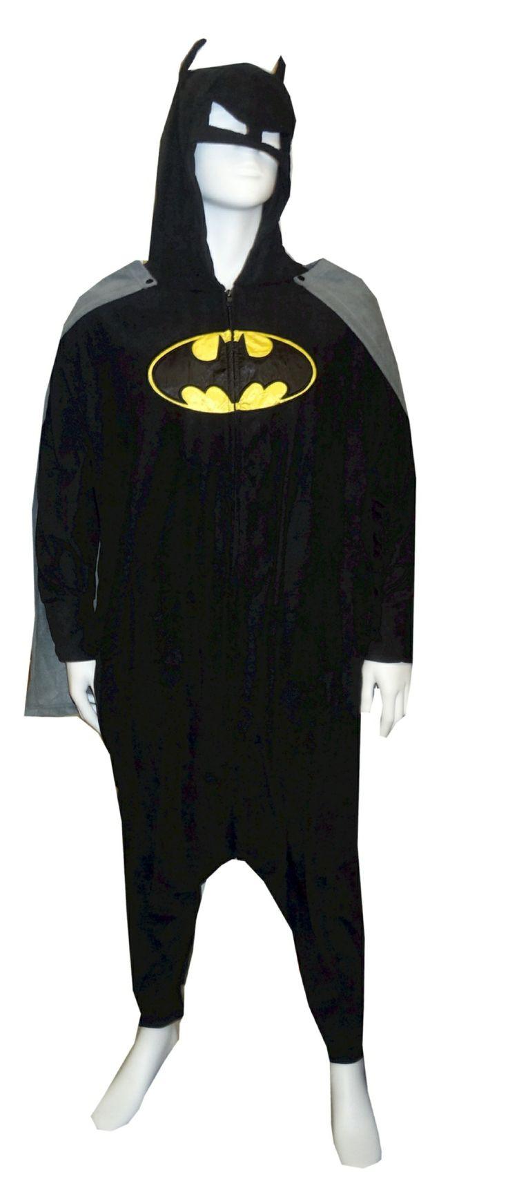 Batman Onesie | Superhero Onesies for Men | Robin Onesie for Adults